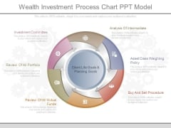 Wealth Investment Process Chart Ppt Model