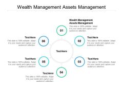 Wealth Management Assets Management Ppt PowerPoint Presentation Design Ideas Cpb