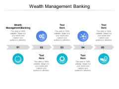 Wealth Management Banking Ppt PowerPoint Presentation Icon Grid Cpb