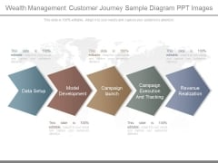 Wealth Management Customer Journey Sample Diagram Ppt Images