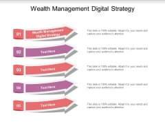 Wealth Management Digital Strategy Ppt PowerPoint Presentation Styles Background Image Cpb Pdf
