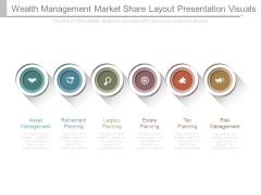 Wealth Management Market Share Layout Presentation Visuals