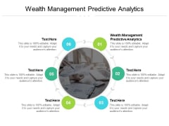 Wealth Management Predictive Analytics Ppt PowerPoint Presentation Infographic Template Ideas Cpb