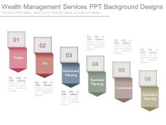 Wealth Management Services Ppt Background Designs