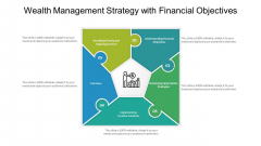 Wealth Management Strategy With Financial Objectives Ppt PowerPoint Presentation Gallery Slide PDF