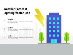 Weather Forecast Lighting Vector Icon Ppt Icon Introduction PDF