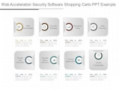 Web Acceleration Security Software Shopping Carts Ppt Example
