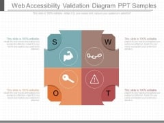 Web Accessibility Validation Diagram Ppt Samples