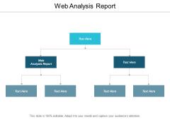 Web Analysis Report Ppt PowerPoint Presentation Styles Skills Cpb