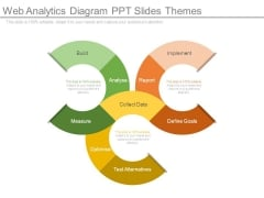 Web Analytics Diagram Ppt Slides Themes