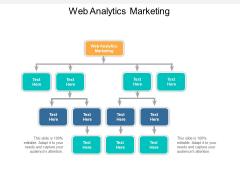 Web Analytics Marketing Ppt PowerPoint Presentation Model Format Cpb