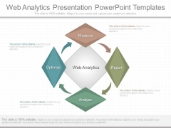 Web Analytics Presentation Powerpoint Templates