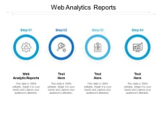 Web Analytics Reports Ppt PowerPoint Presentation Infographics Format Ideas Cpb