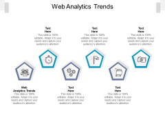 Web Analytics Trends Ppt PowerPoint Presentation Layouts Visual Aids Cpb Pdf