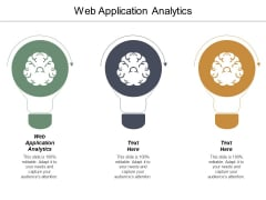 Web Application Analytics Ppt PowerPoint Presentation Professional Rules Cpb