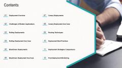 Web Application Improvement Strategies Contents Inspiration PDF