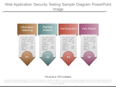 Web Application Security Testing Sample Diagram Powerpoint Image
