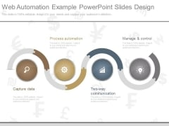 Web Automation Example Powerpoint Slides Design