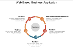 Web Based Business Application Ppt PowerPoint Presentation Styles Graphics Example Cpb Pdf