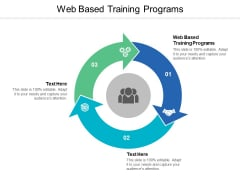 Web Based Training Programs Ppt PowerPoint Presentation Professional Example Topics Cpb