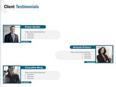 Web Based User Interface Client Testimonials Ppt Portfolio Guide PDF