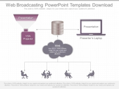 Web Broadcasting Powerpoint Templates Download
