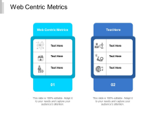 Web Centric Metrics Ppt PowerPoint Presentation Diagram Images Cpb