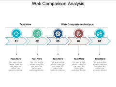 Web Comparison Analysis Ppt PowerPoint Presentation Show Background Designs Cpb