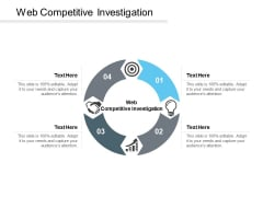 Web Competitive Investigation Ppt PowerPoint Presentation Gallery Brochure Cpb