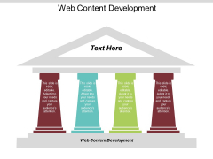 Web Content Development Ppt PowerPoint Presentation Icon Images Cpb