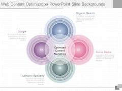 Web Content Optimization Powerpoint Slide Backgrounds