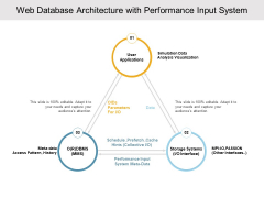 Web Database Architecture With Performance Input System Ppt Powerpoint Presentation Styles Format Ideas