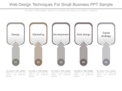 Web Design Techniques For Small Business Ppt Sample