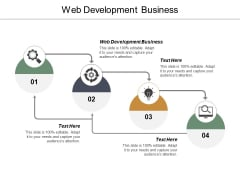 Web Development Business Ppt PowerPoint Presentation Infographic Template Influencers Cpb