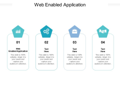 Web Enabled Application Ppt PowerPoint Presentation Pictures Example File Cpb Pdf