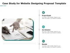 Web Engineering Case Study For Website Designing Proposal Template Ppt Summary Templates PDF