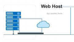 Web Host Network Data Ppt PowerPoint Presentation Complete Deck