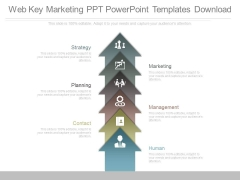 Web Key Marketing Ppt Powerpoint Templates Download