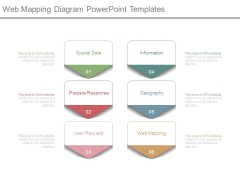 Web Mapping Diagram Powerpoint Templates