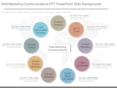 Web Marketing Communications Ppt Powerpoint Slide Backgrounds