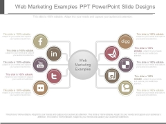Web Marketing Examples Ppt Powerpoint Slide Designs