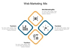 Web Marketing Mix Ppt PowerPoint Presentation Gallery Information Cpb