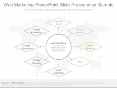 Web Marketing Powerpoint Slide Presentation Sample
