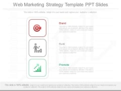Web Marketing Strategy Template Ppt Slides