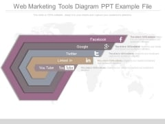Web Marketing Tools Diagram Ppt Example File