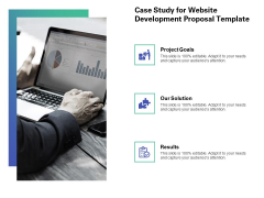 Web Redesign Case Study For Website Development Proposal Template Ppt Infographics Topics PDF