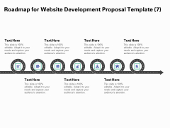 Web Redesign Roadmap For Website Design Proposal Template Seven Stage Process Ppt Infographics Graphic Images PDF