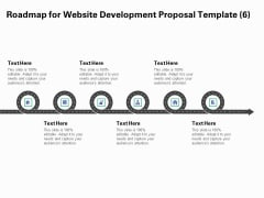 Web Redesign Roadmap For Website Design Proposal Template Six Stage Process Ppt Gallery Visual Aids PDF