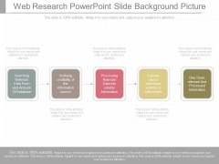 Web Research Powerpoint Slide Background Picture
