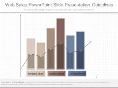 Web Sales Powerpoint Slide Presentation Guidelines